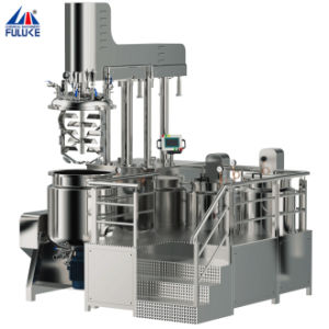 機械、乳化剤の真空のホモジェナイザーのミキサーを作る広州Fulukeの表面クリーム