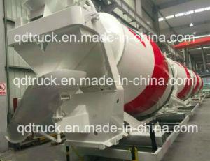 Cuerpo Camión mezclador de 8 m3 de concreto Camión Mezclador de Tambor para Scania, 9m3 Hormigonera camión cisterna para Ford