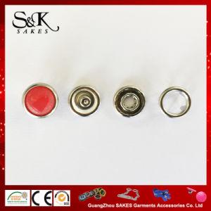 赤ん坊の布のための中心のロゴデザイン金属の真珠の熊手のスナップボタン