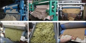 Текстильной переработки сточных вод навозной жижи обезвоживания машины нажмите кнопку Фильтр типа ремня безопасности