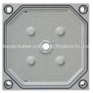 Appuyez sur la plaque de filtre à PP chinois pour le traitement des eaux usées