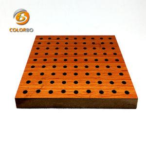 Décoration fonctionnel sélectionné perforé Panneau acoustique En bois pour Hall
