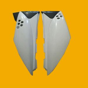 Motorrad-Plastikteile, Kawasaki Klx125 gelassenes und rechtes Kappen-Weiß (Farbe)