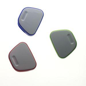 주문을 받아서 만들어지는 로고를 위한 주문을 받아서 만들어진 색깔 사무실 문구용품 플라스틱 자석 클립