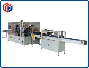 El cartón de embalaje de carga lateral de la Máquina para embalaje de productos de cuidado del cabello Wj-Llgb-15
