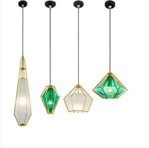 LED de réplica Diamond Kids Dom Luz Pendente Lustre decorativa da retaguarda