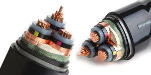 Bainha em PVC Isolados em XLPE fio de aço Armor Swa Armor Cabo do Fio de Alimentação Elétrica Elétrica
