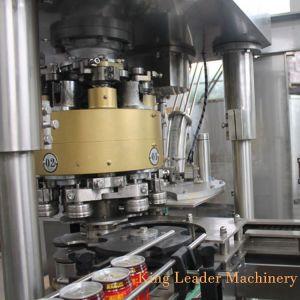 Totalmente automático de llenado de bebidas de aluminio líquido puede producir la máquina para el zumo caliente