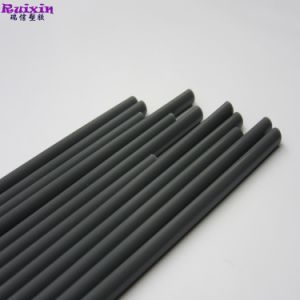 Manípulo sólido de plástico cinzento escuro 4.3mm de diâmetro Tamanho personalizado