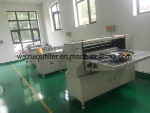 Воздушный фильтр бумагоделательной машины бумаги машины Pleating ножа