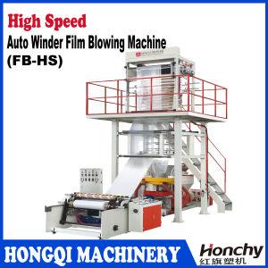 Enrolador automático de alta velocidade máquina de Filme Soprado
