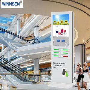 8 Digital-Schließfach-elektrische Handy-Ladestation-Schließfächer mit Banknote-Leser-Kartenleser