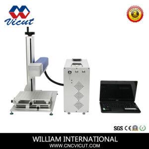 La opción de IPG superficie metálica marcadora láser