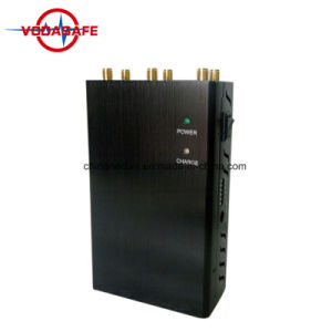 Un potente dispositivo GSM/CDMA, 3G/4G móvil WiFi, Lojack, bloqueador de la señal de GPS/Jammer; 6 bandas 2G (CDMA/GSM/3G/4gwimax teléfonos WiFi Jammer seguridad