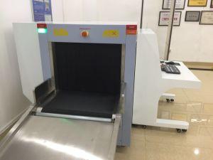 At6550d mittlere Größen-Doppelansicht mit zwei Generatoren Soem-Röntgenstrahl-Flughafen-Gepäck und Gepäck-Inspektion-Scanner für öffentliche Sicherheit-Scannen