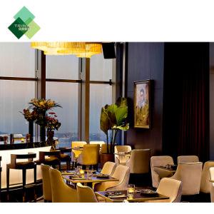 La personalización silla de mesa moderno Sofá tela Metal madera muebles de cuero para el Hotel restaurante la Comida Rápida Comedor Bar Cafe