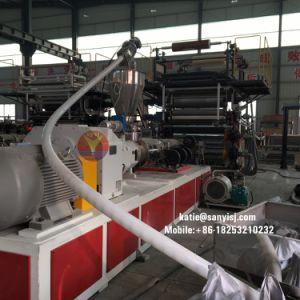 樹脂材料PVC Spc機械装置を作る石造りのプラスチック容易なクリックのフロアーリング