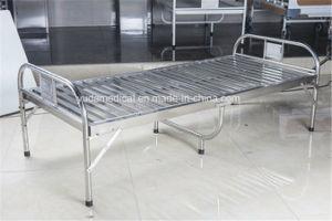 Manual de leito hospitalar cama hospitalar económica com trilho lateral para venda