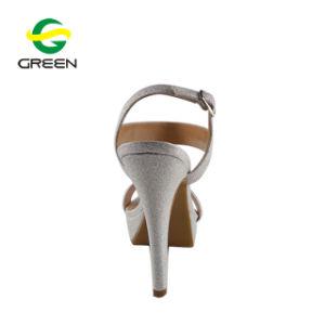 Chaussures femmes talons sandales, les prix bon marché Diamond haut talon sandale, Chaussures Femmes Mesdames crayon talon sandale