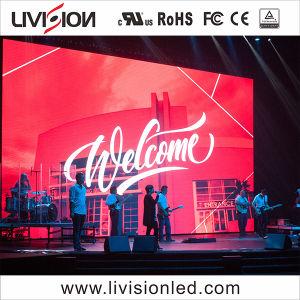 O LED de evento no interior do ecrã de vídeo P3.9/4,8 Display LED para fundo do palco
