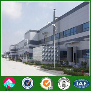 Estructura de acero de la luz de la construcción de la fábrica