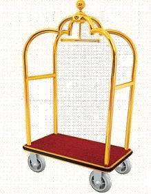 Il Crown Luggage Trolley per Hotel
