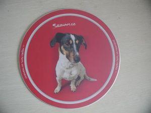 Mouse pad de PVC de boa qualidade com espuma Skidproof Volta