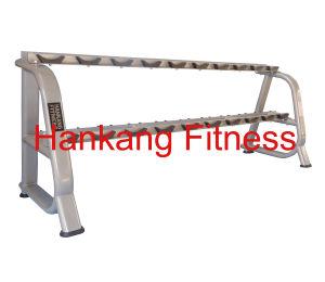Strumentazione di ginnastica, forma fisica, costruzione di corpo, concentrazione del martello, cremagliera di Dumbbell (10 accoppiamenti) (HP-3060)