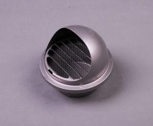 Accessorio per tubi esterno del cappuccio della parete dell'acciaio inossidabile 304 con il montaggio del hardware del coperchio dello sfiato della maglia