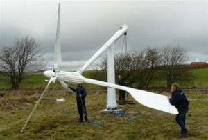 2kw Manual Brake System Yawing Technology Small Wind Power Generator