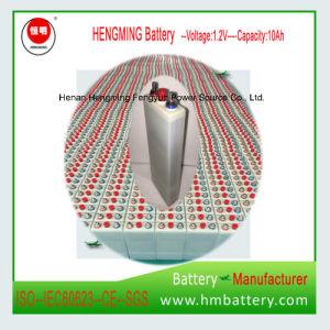 1,2 V 10Ah batería Ni-CD 10Ah para alimentación de reserva