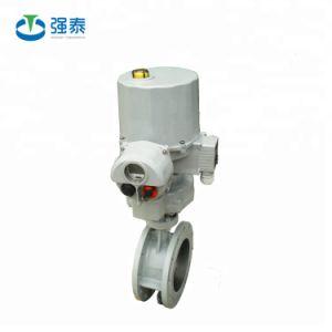 Válvula borboleta motorizada DN50 com atuador elétrico inteligente 220V