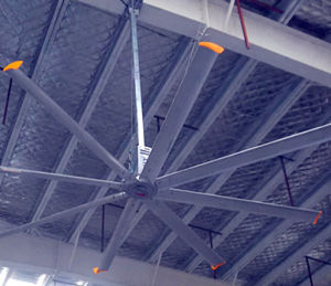 industriële Ventilator van de Grootte van 16ft de Hoge Efficiënte Grote voor Pakhuis