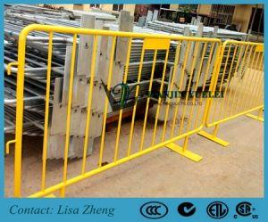Revestimiento de PVC Galvanizado en caliente el control de multitudes barreras (CCB)