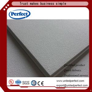 Materiales de decoración de absorción de sonido acústico de fibra mineral junta