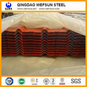 Het vooraf geverfte Kleur Met een laag bedekte Blad van het Dakwerk in China