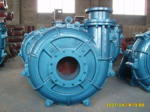 SA doublure en caoutchouc à usage intensif série pompe centrifuge de lisier, les boues pompe, pompe de la pompe de produits chimiques, industrielles, de boue, de la pompe de la drague, sable de la pompe de la pompe