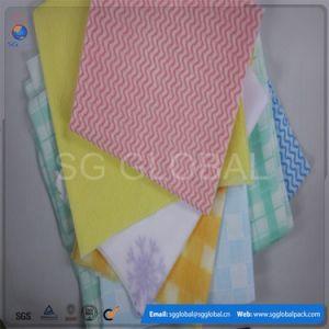 Großverkauf farbige Spunlace Vliesstoff-Wischer für Küche