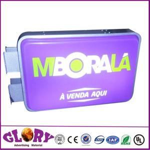 LED boîte à lumière de la publicité thermoformé acrylique Shop Affichez