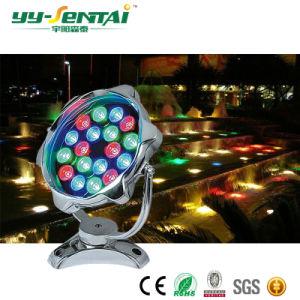 indicatore luminoso subacqueo di 6W LED per il raggruppamento/fontana