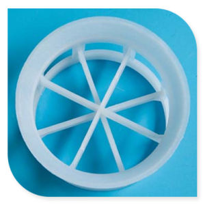 Anel mini cascata de plástico