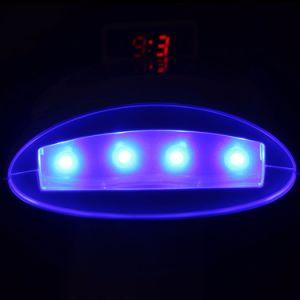 Aksdent D4zz Dental el blanqueamiento de dientes Lámpara de Sobremesa Dispositivo 4 Tabla Azul LED Luz Blanqueamiento Dental