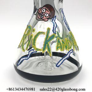 Eindeutiges Entwurfs-Huka-Glasrohr-Becher-Glaswasser-Pfeife für 420