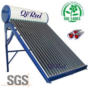低圧のセリウムの承認のガラス真空管の太陽ヒーター
