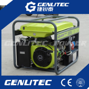 Luft abgekühlter einzelner Benzin-Generator des Zylinder-15HP 6kw