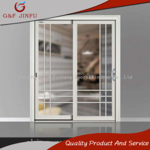 Домашнего использования современных порошковое покрытие алюминиевые раздвижные двери