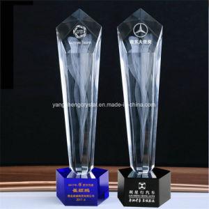 De Trofee van het kristal voor Winnaar of Kampioen