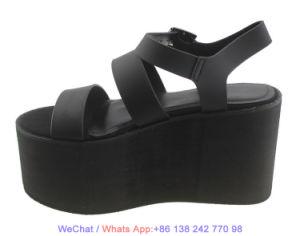 Mode Femmes's Beach haut talon chaussures sandales de plate-forme de filtre en coin
