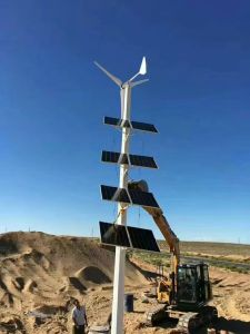 generatore di energia eolica del laminatoio di vento di 5kw 220V/turbina di vento/