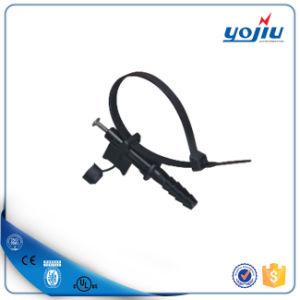 El ABC de anclaje de racor de tubería de clavo de fijación de plástico para cable de alambre
